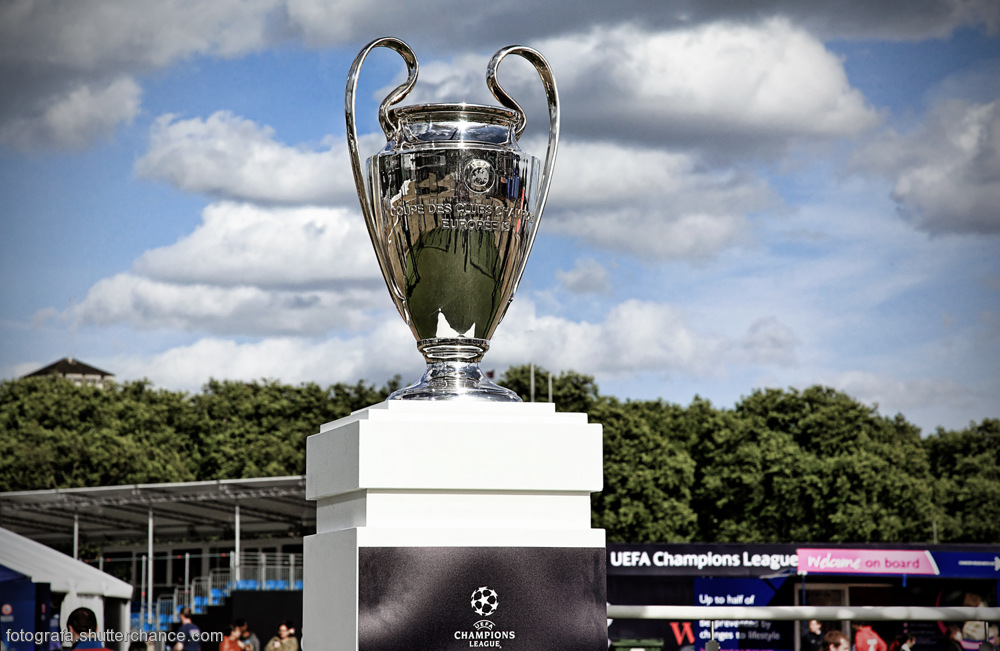 photoblog image The European Champions League Cup