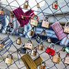 The Love Padlocks of Shoreditch on the East Side