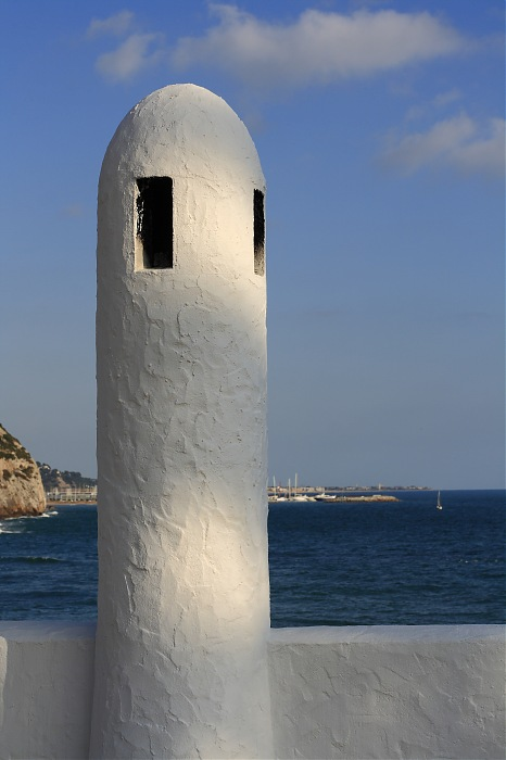 photoblog image Una chimenea del mediterraneo