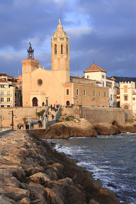 photoblog image Iglesia de Sitges.