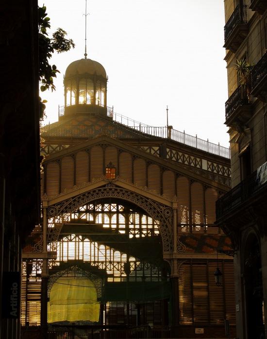 photoblog image Contraluz del Born.