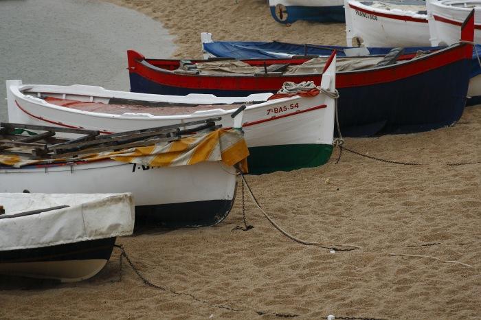 photoblog image Barcas de Calella.
