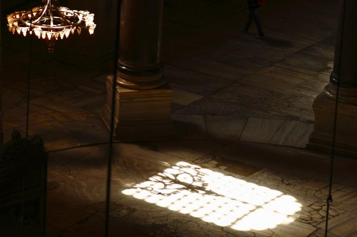 photoblog image Sombras en Santa Sophia.