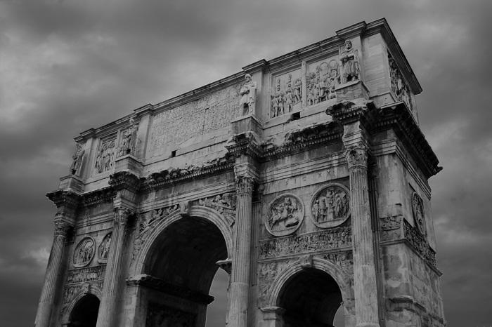 photoblog image Arco de Constantino.