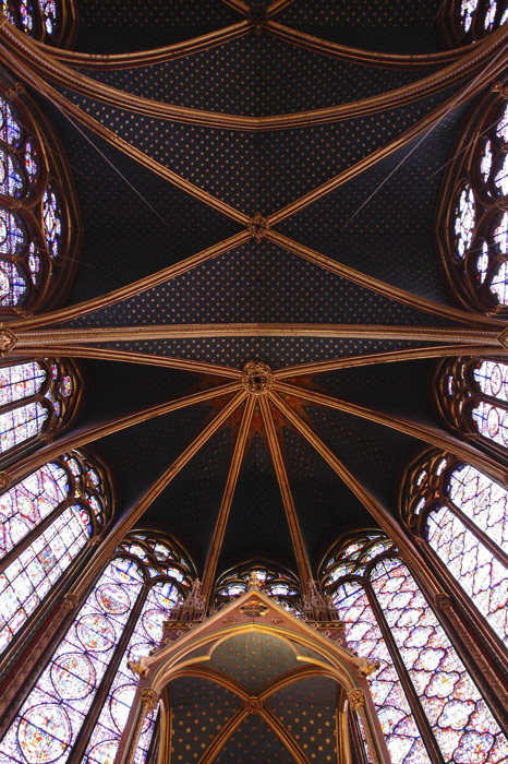 photoblog image Sainte Chapelle.
