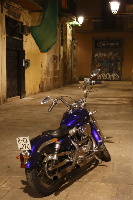 photoblog image Una moto.