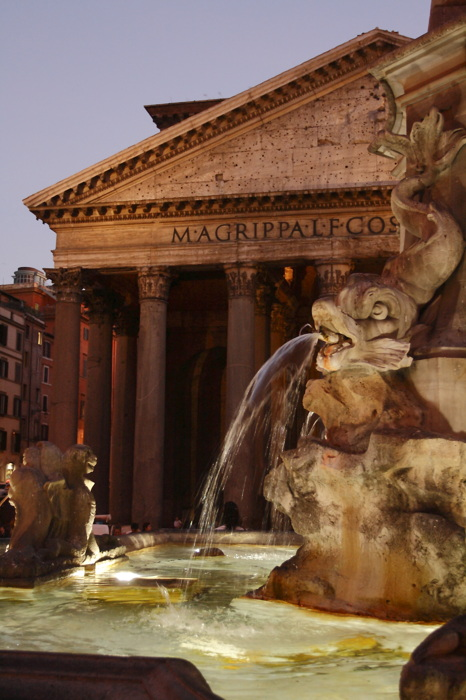photoblog image Piazza della Rotonda.