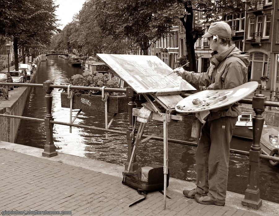 photoblog image Painting the Town