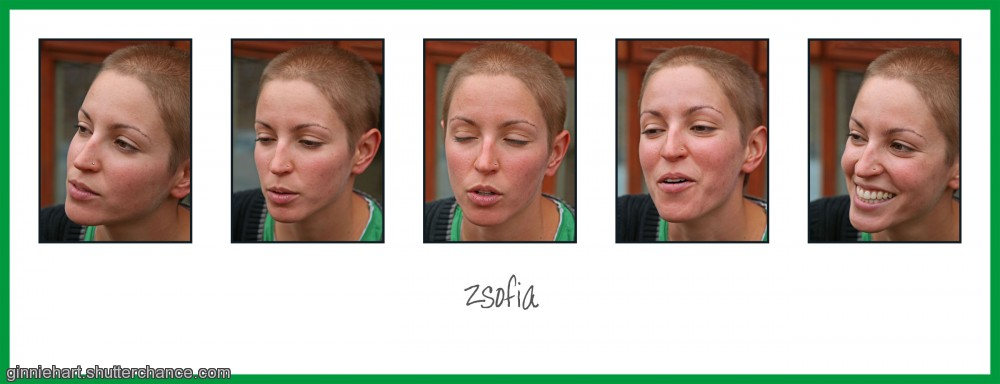 photoblog image The Five Faces of Zsofia