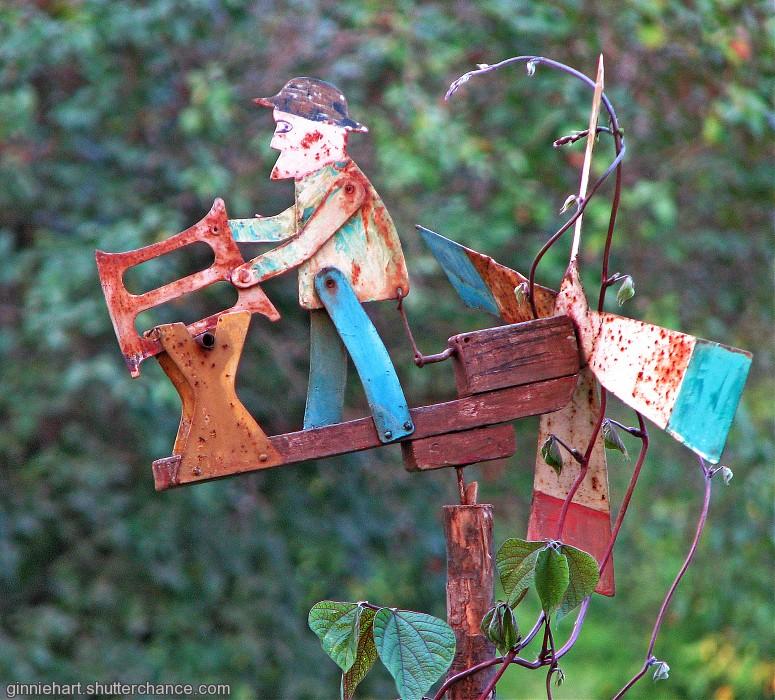 photoblog image Chris the Whirligig Cutter