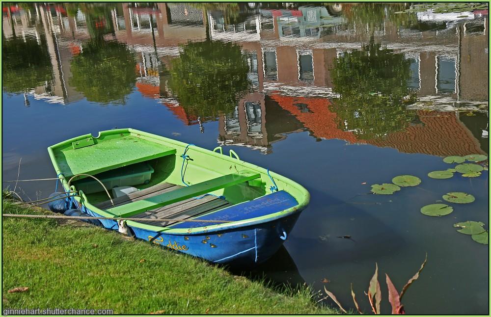 photoblog image Canal Reflections