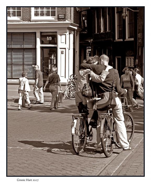 photoblog image Blocking Out the World