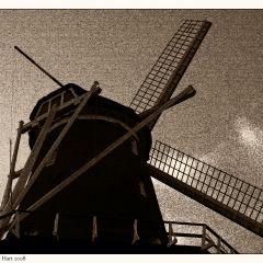 A Windmill Canvas