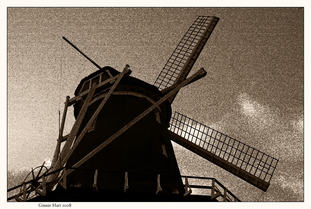 photoblog image A Windmill Canvas