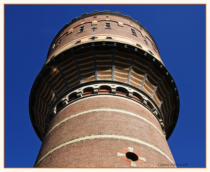 photoblog image Utrecht's Water Tower