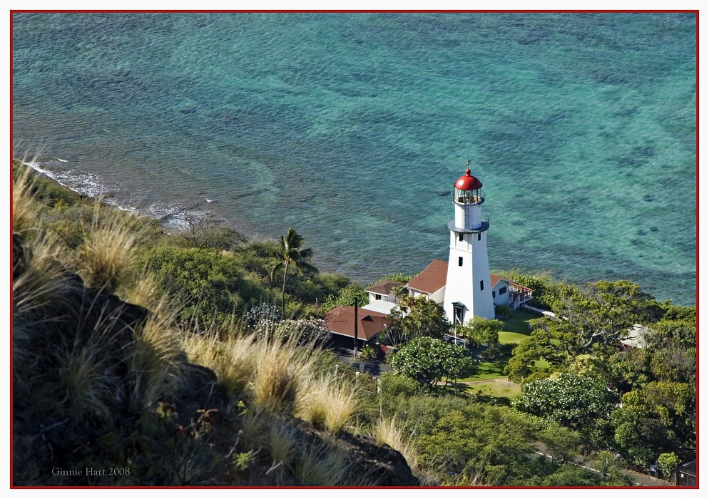 photoblog image The Diamond Head Lighthouse