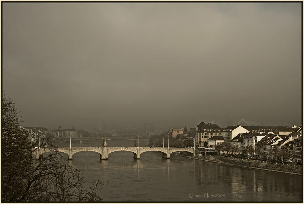 photoblog image Basel's Early-Morning Rhine