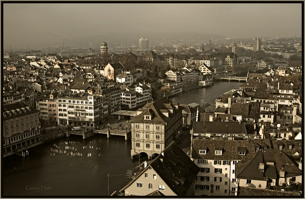 photoblog image Zürich's Limmat River