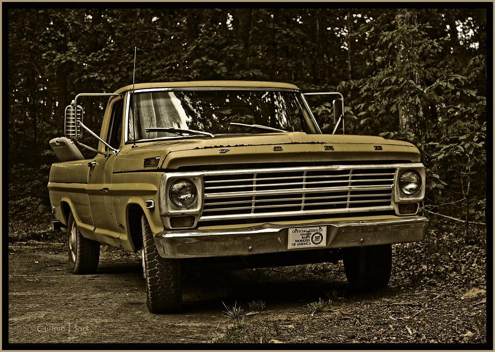 photoblog image 1969 Ford F-250