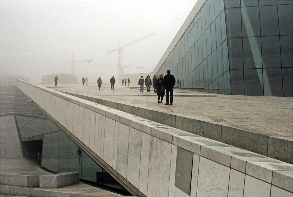 photoblog image The Oslo Opera House