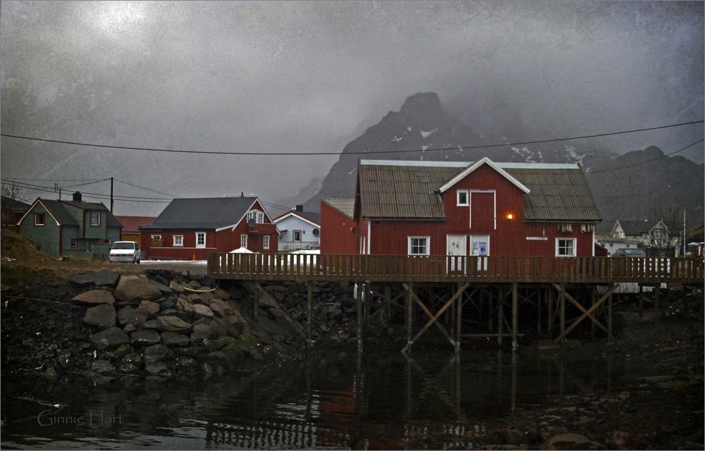 photoblog image Norwegian Fishing Village