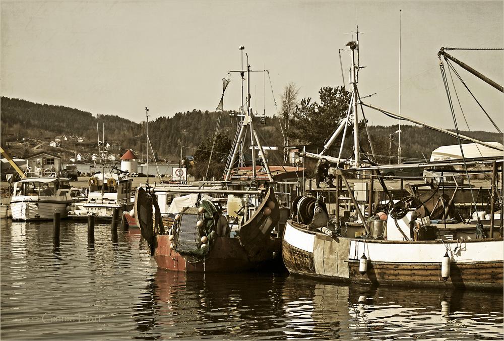 photoblog image Drøbak Harbor, Norway