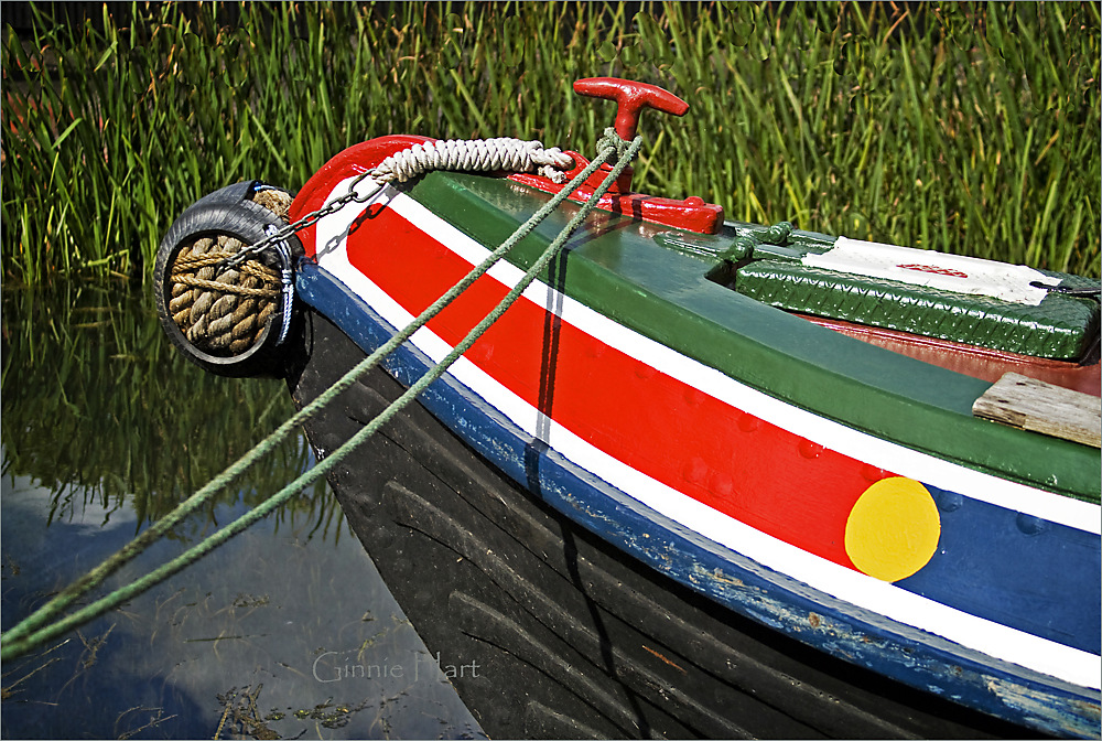 photoblog image Happy and Colorful  Boat Friday
