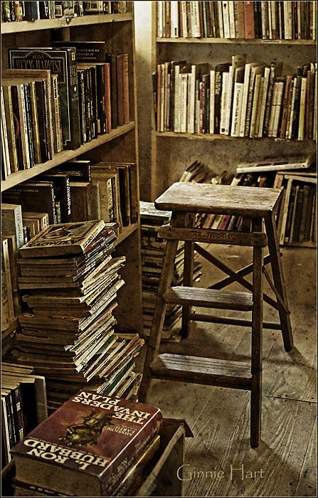 photoblog image Enough Books to Sink a Ship
