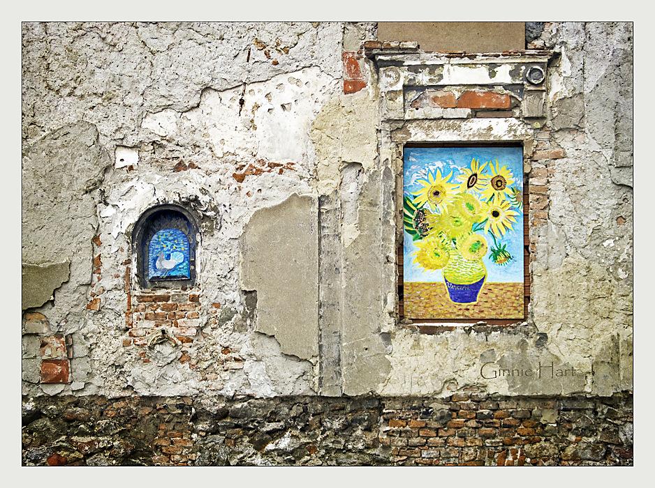 photoblog image Van Gogh in Bratislava
