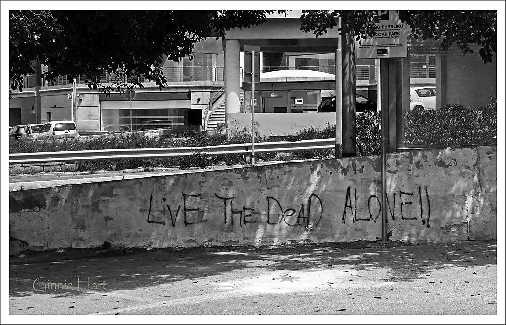 photoblog image Live the Dead Alone