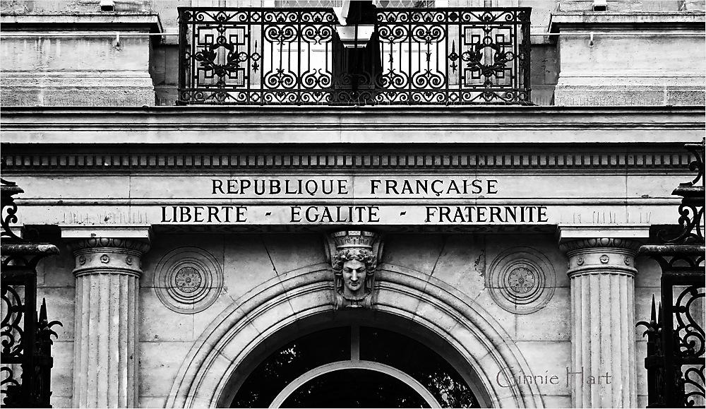 photoblog image Liberté, Egalité, Fraternité