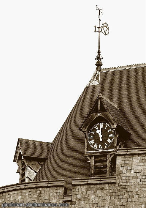 photoblog image Windsor's Clock