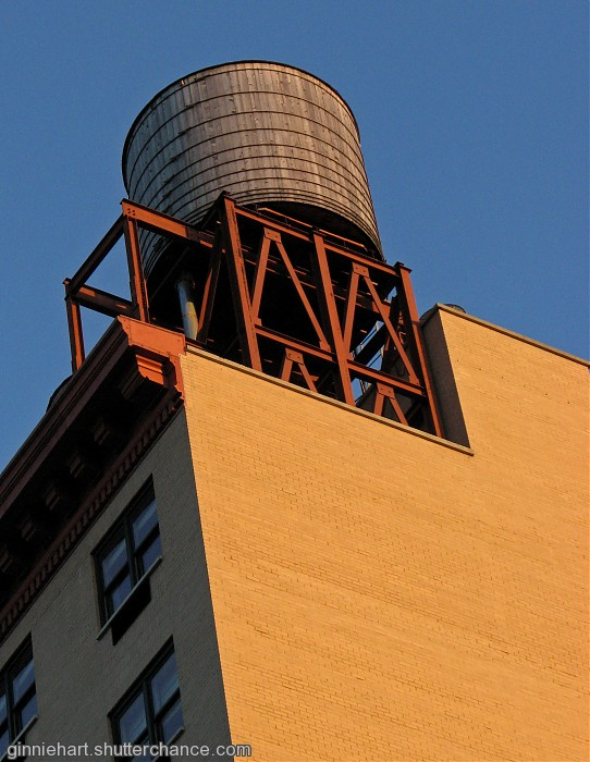 photoblog image NYC's Water Towers
