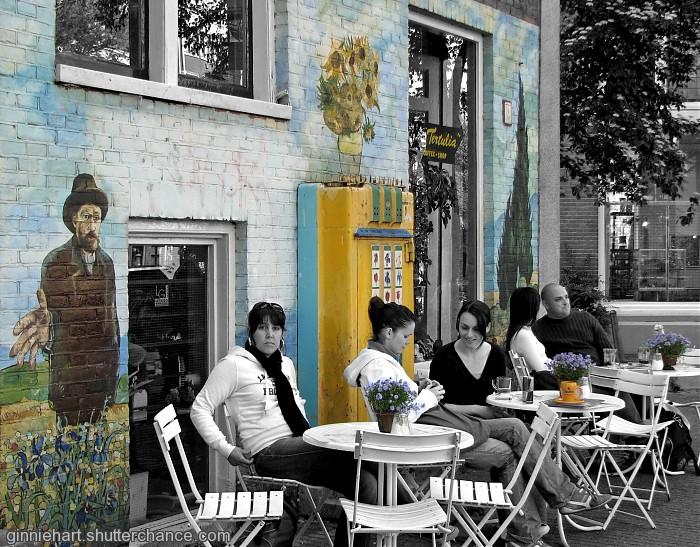 photoblog image Van Gogh's Coffeeshop