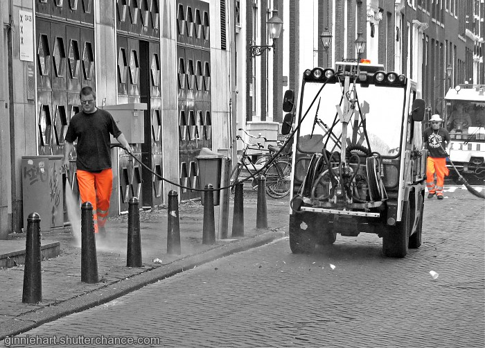 photoblog image Street Cleaners