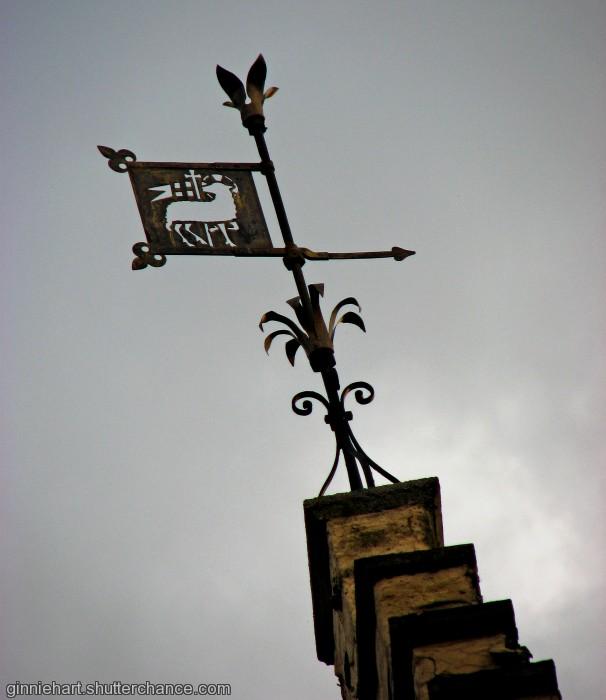 photoblog image A Bruges Weather Vane