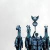 Puerta de Brandenburgo en el Parque Europa