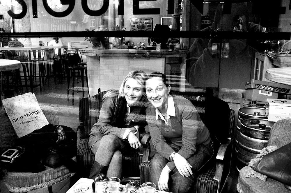 photoblog image coffee bar - es hora de sonreir