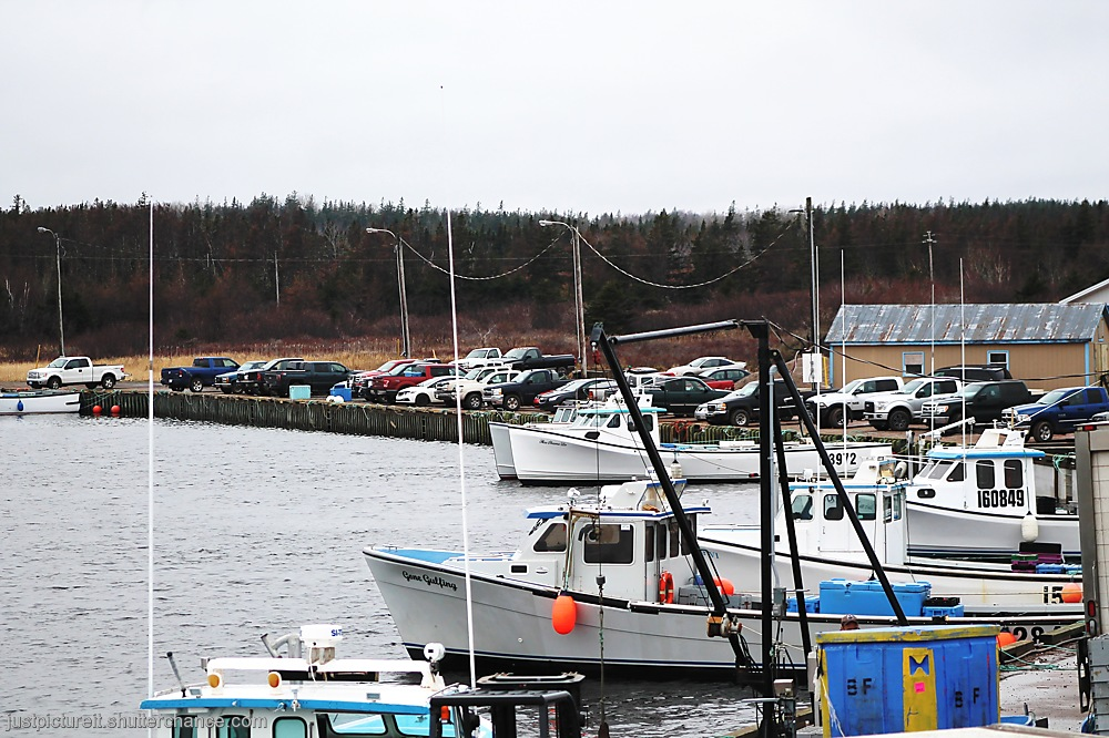 photoblog image Friday Parking Lot