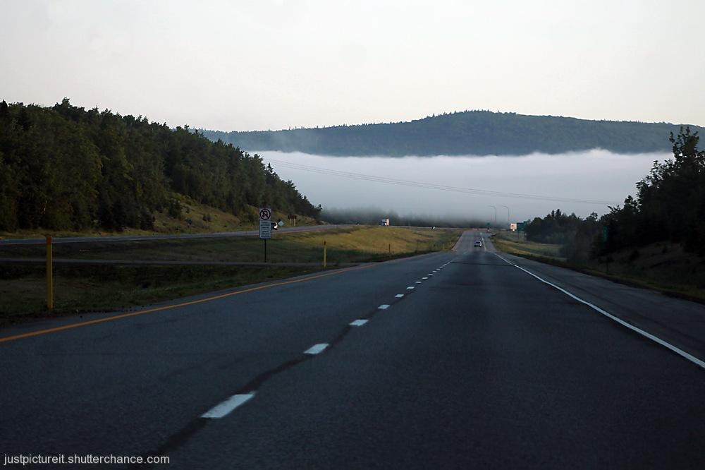 photoblog image Lifting Fog
