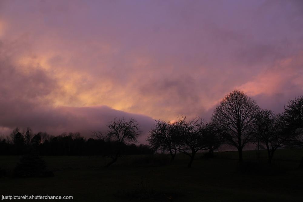 photoblog image Purple Sky