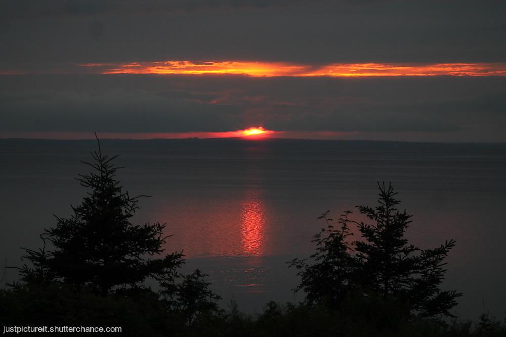 photoblog image Slice of Sunset