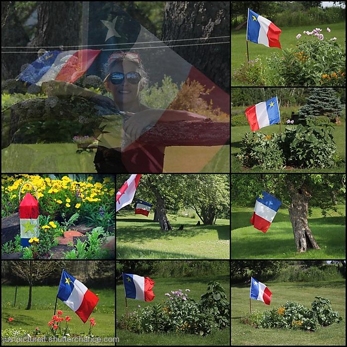 photoblog image Acadian Flag
