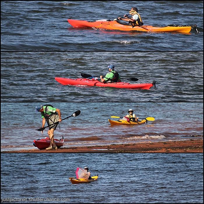 photoblog image Kayakers - Rocky Point - Aug 2019