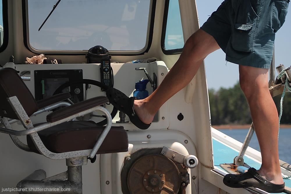 photoblog image Skilled Captaining