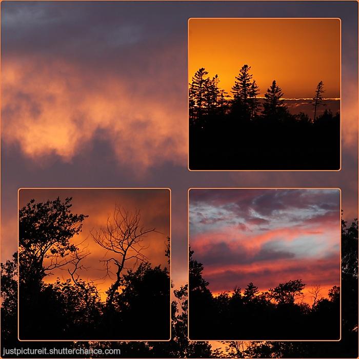 photoblog image Sunset 25 June 2020