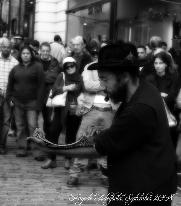 photoblog image Street Performer 1
