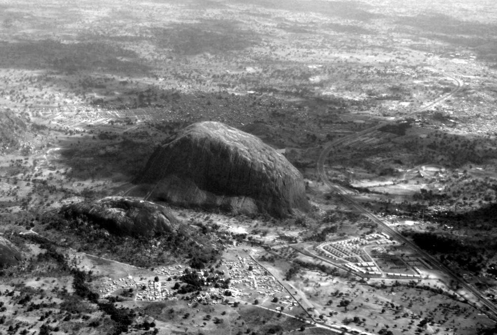 photoblog image Flying over Rock City
