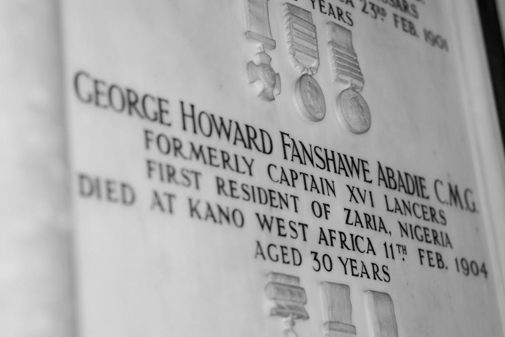 photoblog image Memorial Tablet, Canterbury Cathedral