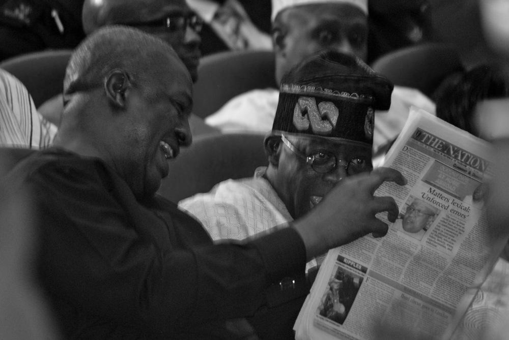 photoblog image Ghanaian Vice President Mahama and Asiwaju Bola Tinubu